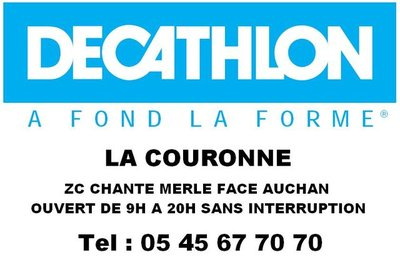 Decathlon - La Couronne